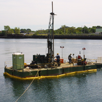 Geologic Marine Sectional Barge