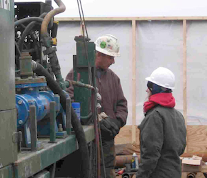 Geotechnical Drilling Skiss at Geologic